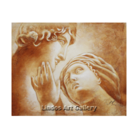 Greek Gods and the Kiss Oil Painting