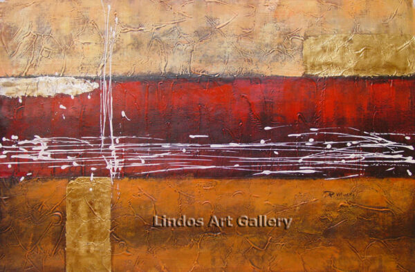 Textured Modern Abstract Painting