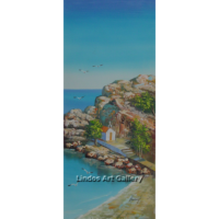 St Pauls Bay Church Painting