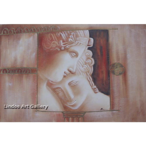 Greek God and Goddess of Love Oil Painting