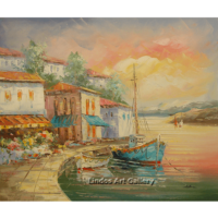 Hoses and Boats Seaview Painting