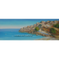St Pauls Bay Lindos Oil Painting