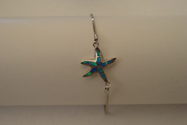 Blue Starfish Sterling Silver 925