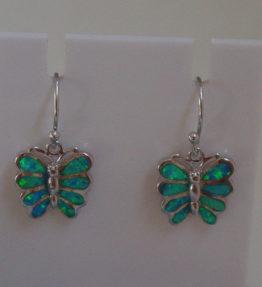 Butterfly Silver Earrings