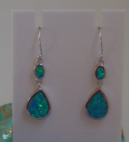 Oval Teardrop Earrings