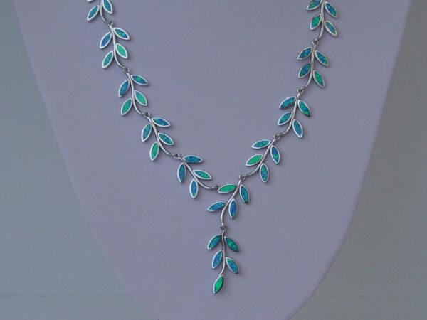 Olive Leaf Necklace