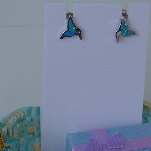Silver Bird Earrings