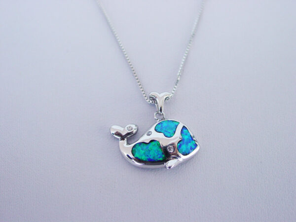 Blue Whale Necklace