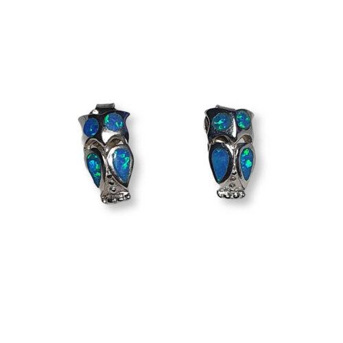 Greek Owl of Athena Earrings